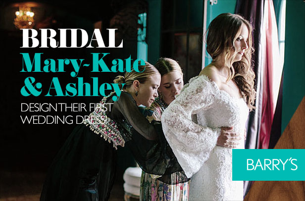 Mary-Kate and Ashley Design Their First Wedding Dress!