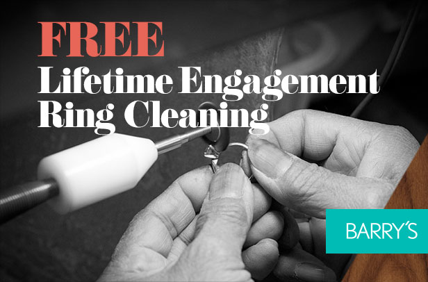 FREE Lifetime Engagement Ring Cleaning