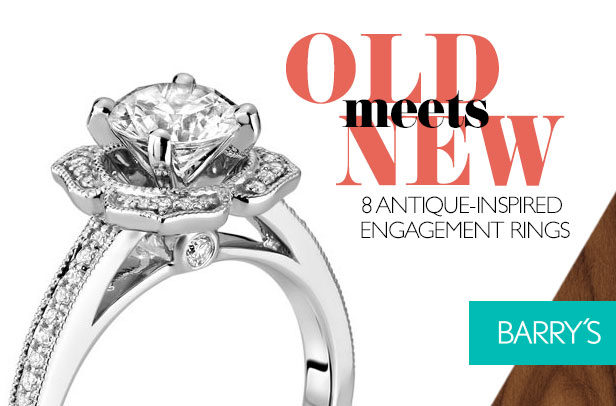 Old Meets New in 8 Antique-Inspired Engagement Rings