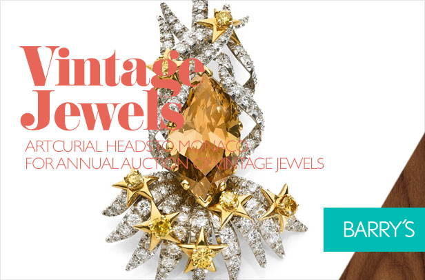 Artcurial Heads to Monaco for Annual Auction of Vintage Jewels
