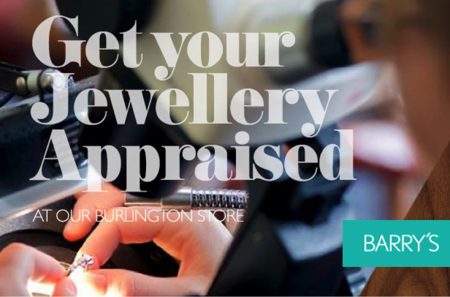 Get your Jewellery Appraised at Our Burlington Store