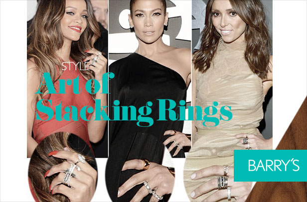 The Art of Stacking Rings
