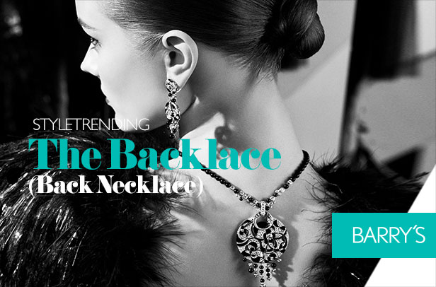 Trending: The Backlace (Back Necklace)