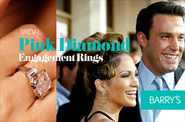 Think Outside the Box With a Pink Diamond Engagement Ring