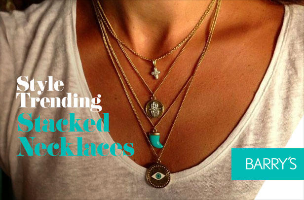 Trending: Stacked Necklaces