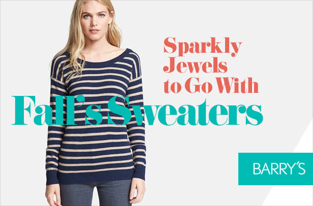 Sparkly Jewels to Go With Fall's Coziest Sweaters