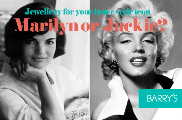 Are you a Marilyn or a Jackie? Jewellery for your inner style icon