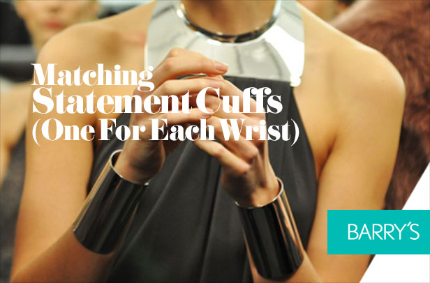Trending: Matching Statement Cuffs (One For Each Wrist)