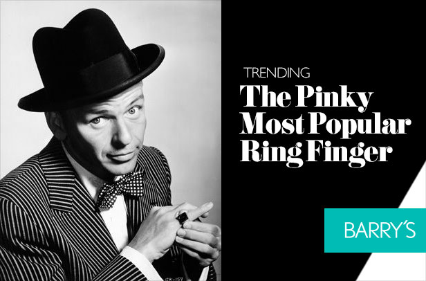Trending: The Pinky is the Most Popular Ring Finger