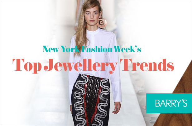 Runway Report: Top Jewellery Trends at New York Fashion Week Spring 2015