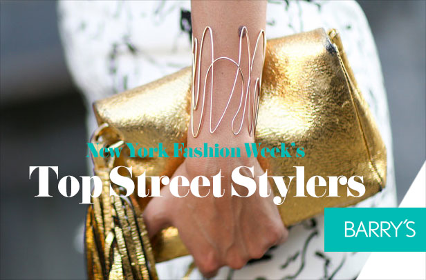 Bling Bling: As Seen on New York Fashion Week's Top Street Stylers