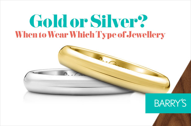 Gold or Silver: When to Wear Which Type of Jewellery