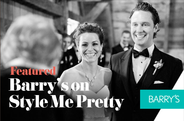 Featured: Barry's on Style Me Pretty