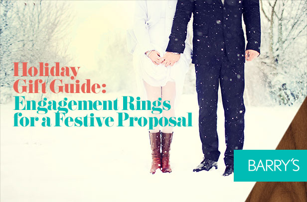 Holiday Gift Guide: Engagement Rings for a Festive Proposal
