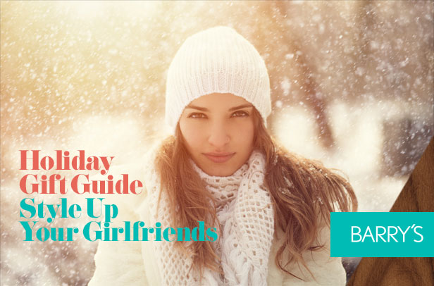 Holiday Gift Guide: Style Up Your Girlfriends