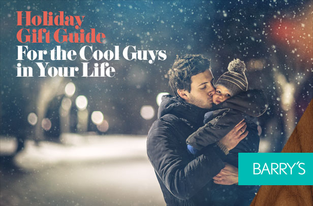 Holiday Gift Guide: For the Cool Guys in Your Life