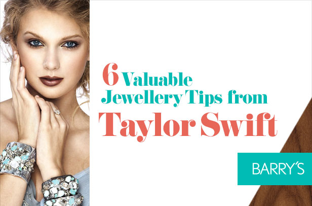 6 Valuable Jewellery Tips From Taylor Swift