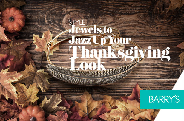 Jewels to Jazz Up Your Thanksgiving Look
