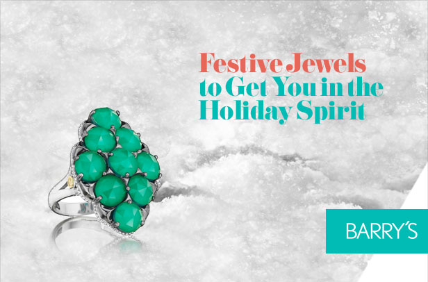 Festive Jewels to Get You in the Holiday Spirit