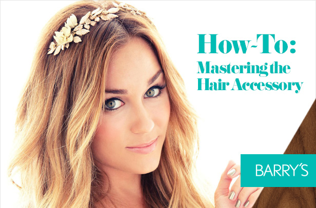 Style How-To: Mastering the Hair Accessory