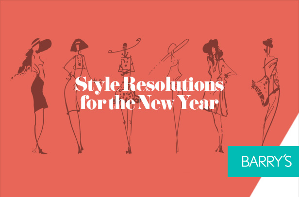 Style Resolutions for the New Year !