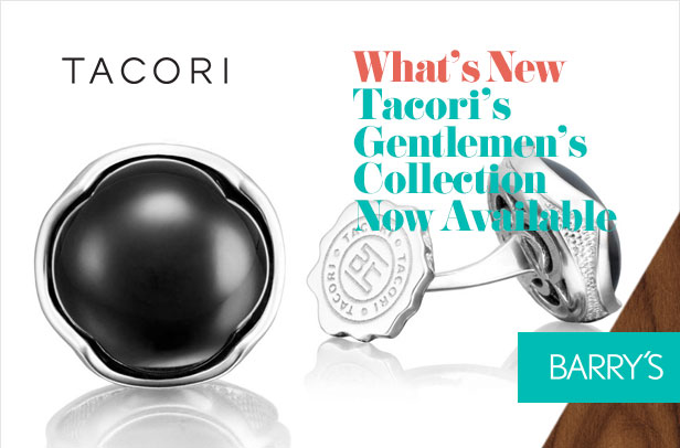 What's New: Tacori's Gentlemen's Collection Now Available at Barry's