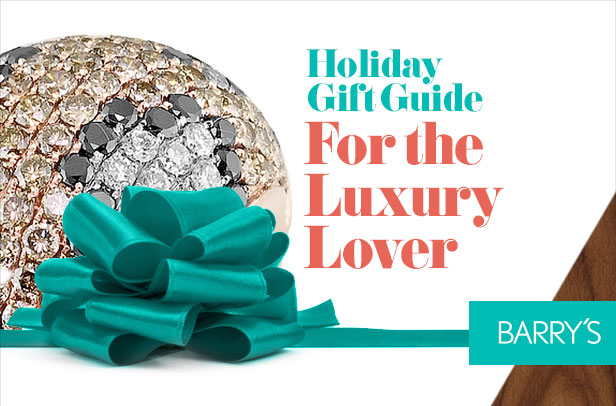 Holiday Gift Guide: For the Luxury Lover