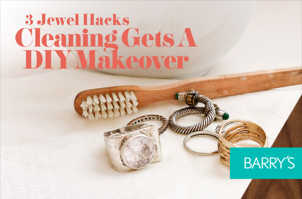 3 Jewel Hacks: Cleaning Gets A DIY Makeover