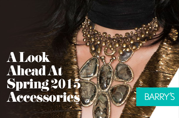 A Look Ahead At Spring 2015 Accessories