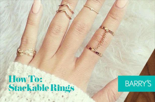 Style How To: Stackable Rings