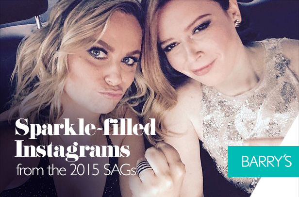 Sparkle-filled Instagrams from the 2015 SAGs