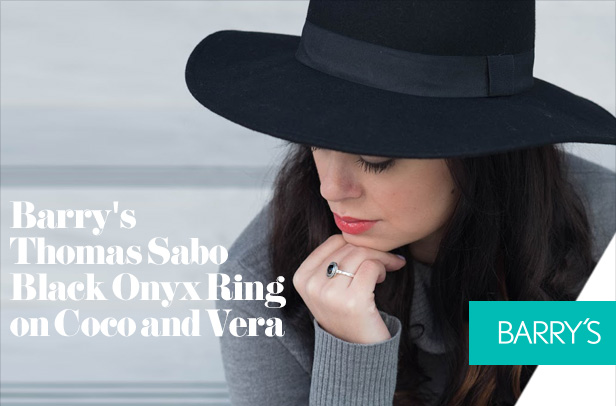 Featured: Barry's Thomas Sabo Black Onyx Ring on Coco and Vera