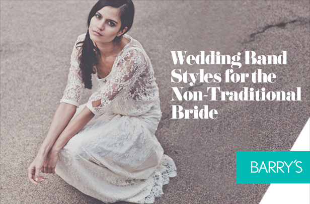 Wedding Band Styles for the Non-Traditional Bride