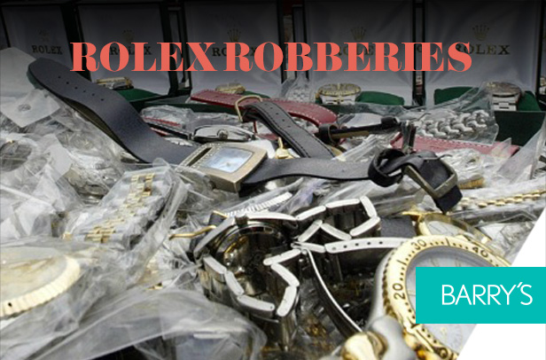 Rolex Robberies – Read On!