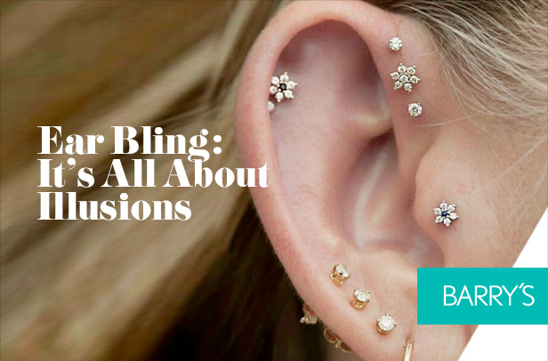 Ear Bling: It's All About Illusions