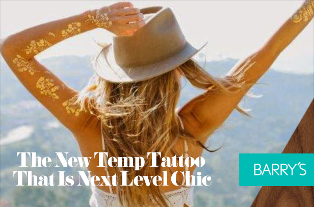 The New Temp Tattoo That Is Next Level Chic