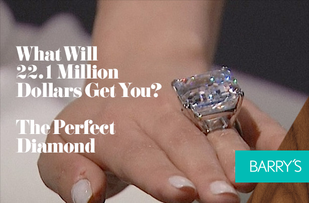 What Will 22.1 Million Dollars Get You? The Perfect Diamond