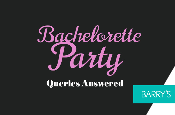 Your Bachelorette Party Queries Answered