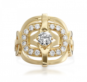 hearts on fire gold cocktail ring barrys jewellers