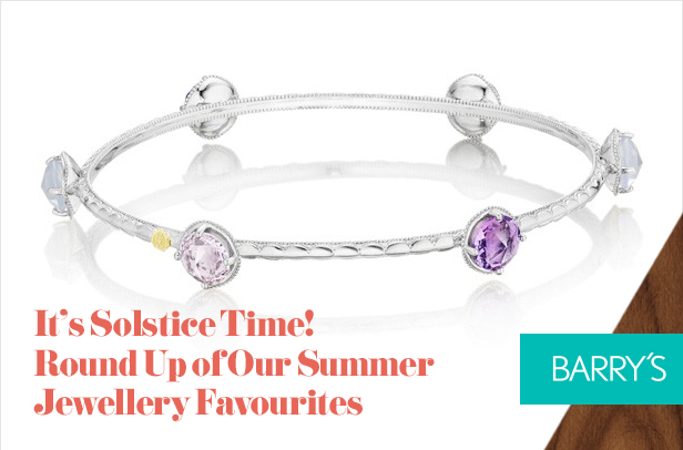 It's Solstice Time! Round Up of Our Summer Jewellery Favourites
