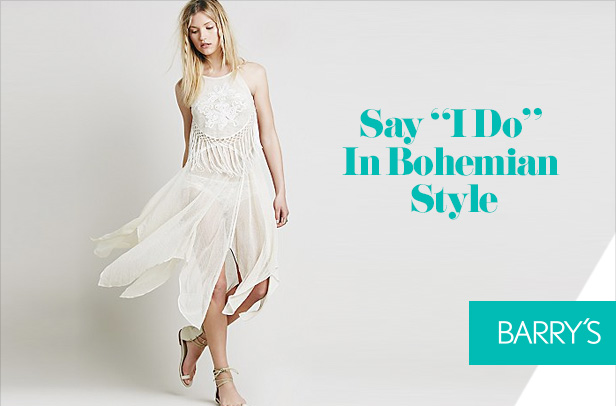 """Say """"I Do"""" In Bohemian Style"""
