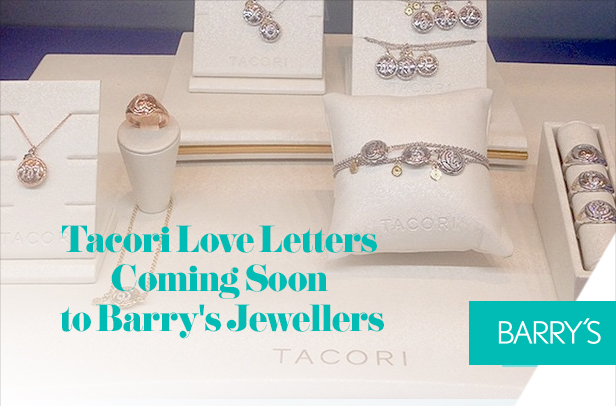 Tacori Love Letters Coming Soon to Barry's Jewellers