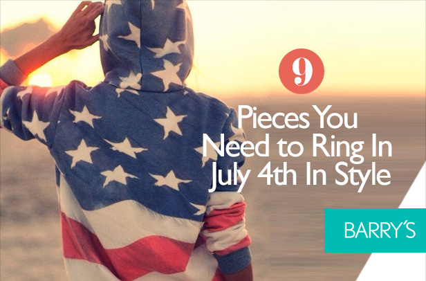 9 Pieces You Need to Ring In July 4th In Style