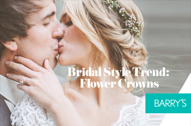 Bridal Style Trend: Flower Crowns