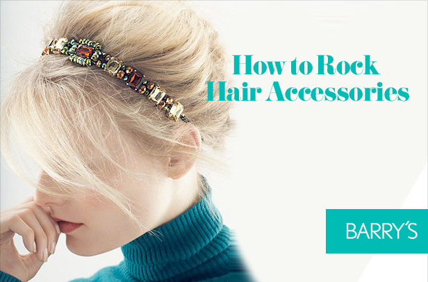 How to Rock Hair Accessories