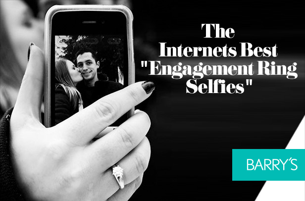 """The Internets Best """"Engagement Ring Selfies"""""""