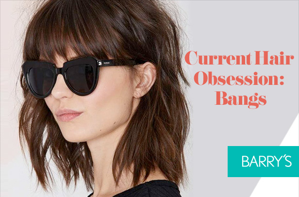 Current hair obsession: Bangs