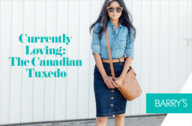 Currently Loving: The Canadian Tuxedo