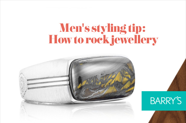 Men's styling tip: How to rock jewellery