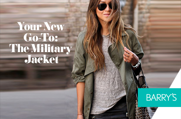 Your New Go-To: The Military Jacket